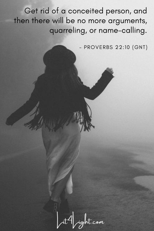 Proverbs 22:10